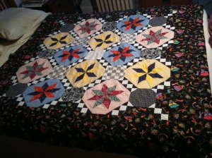 Lemoyne Star Quilt Top