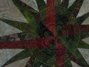 "Quilting detail, ""Filigree"" by Marilyn Badger"