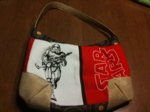 Star Wars purse back