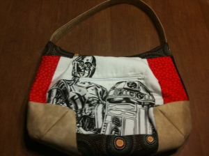 Star Wars purse front