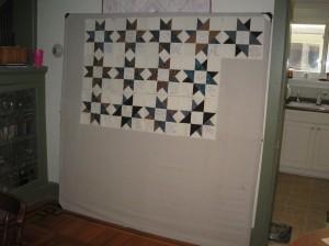 6-foot design wall