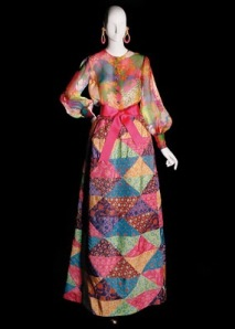 Yves Saint Laurent gown from the 1969 collection