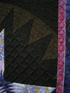 "Detail, ""Tanzanite Star of Africa,"" by Sandra Soni"