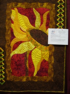 """My Majestical Sunflower,"" by Kathryn Gostola"