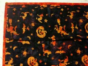 Halloween batik