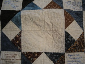 quilting A&M quilt