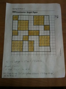 Layout for Ronan's Quilt