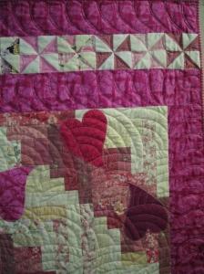 Quilting Detail, Arianna's Quilt
