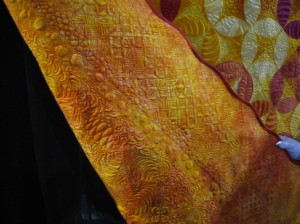 "Back detail, ""The Sampler"" by Barbara Persing"