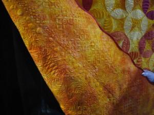 "Back detail, ""The Sampler"" by Barbara Persing"
