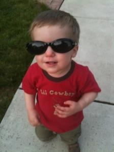Ronan in sunglasses