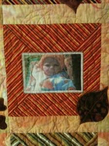 Center detail, Alexander's Quilt