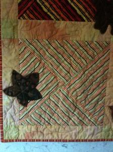 Corner detail, Alexander's Quilt