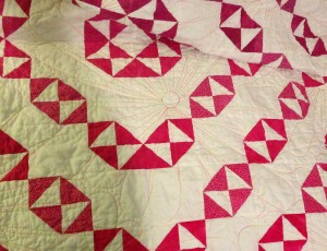 Quilting Detail, Evelyn's Quilt