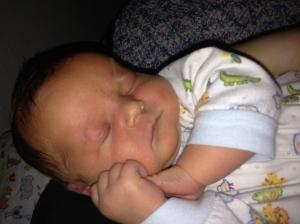 Finley sleeping
