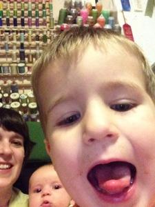 Selfie w/ kids